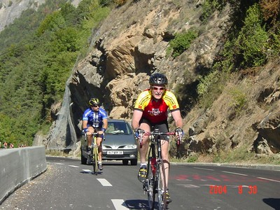 The Alpe d'Huez and not just on television