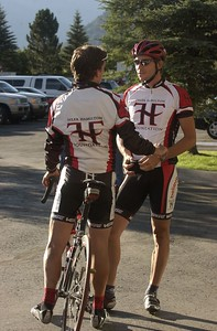 (VAIL/ASPEN, Colo., July 30, 2005) Tyler Hamilton Foundation's Rocky Mountain Challenge