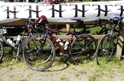 (VAIL/ASPEN, Colo., July 30, 2005) Tyler Hamilton Foundation's Rocky Mountain Challenge
