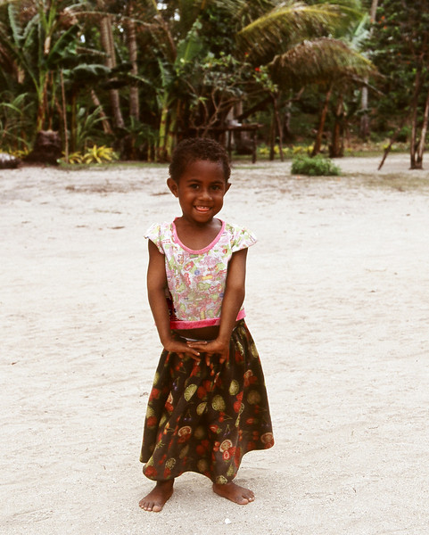 """Cutie-pie"" - a Little Girl in Remote Boga-Boga Village, Papua New Guinea 2008"