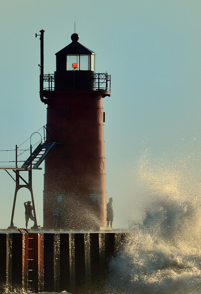 South Haven Pier Lighthouse