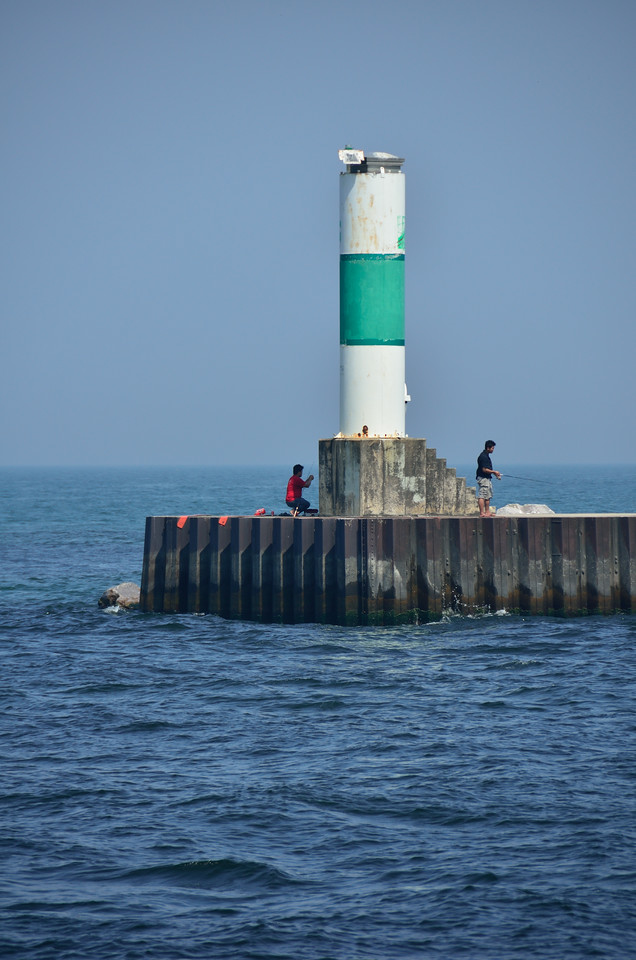 Muskegon North Pier Breakwater Light