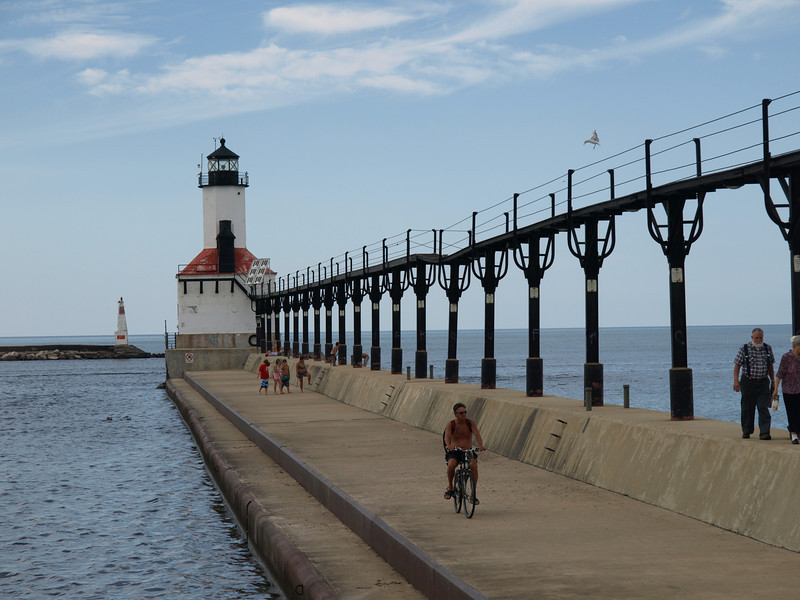 East Pierhead Lighthouse, Michigan City, IN