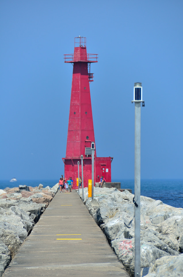 Muskegon South Breakwater Light