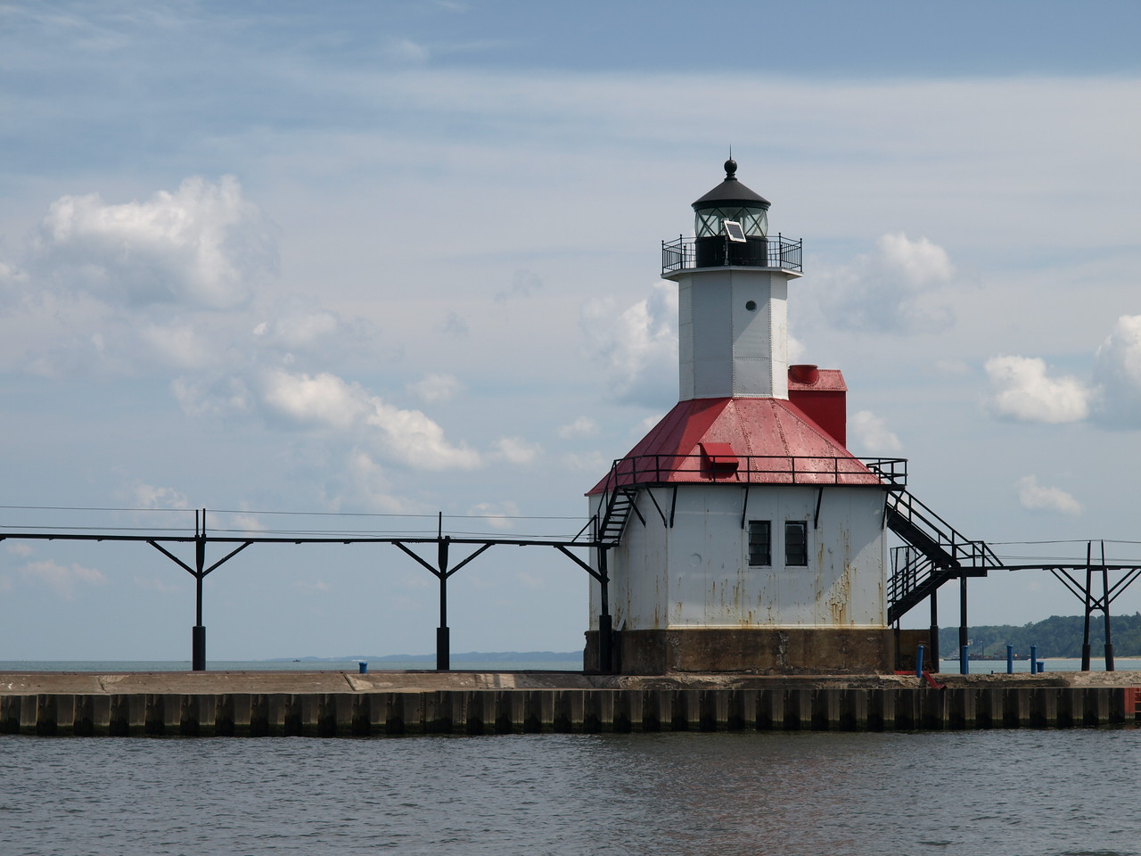 North Pierhead Lighthouse, St. Joseph, Michigan