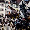 Street parade in Switzerland