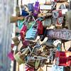 Love locks in Berlin, Germany