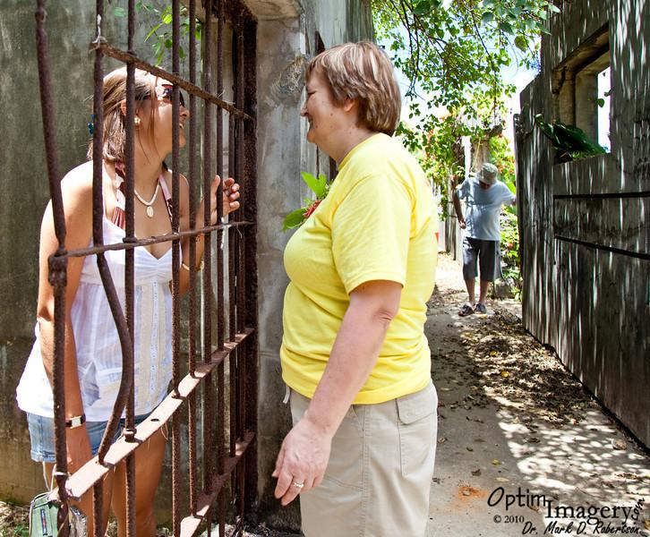Oh NO!  Olga is in JAIL!