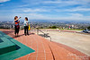 We are now on top of 823-foot high Mount Soledad, with breathtaking views of San Diego.