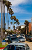 """Streets of La Jolla -- whether it be """"the jewel"""" or """"the hole in the mountain.""""  Either way, it is a beautiful place."""