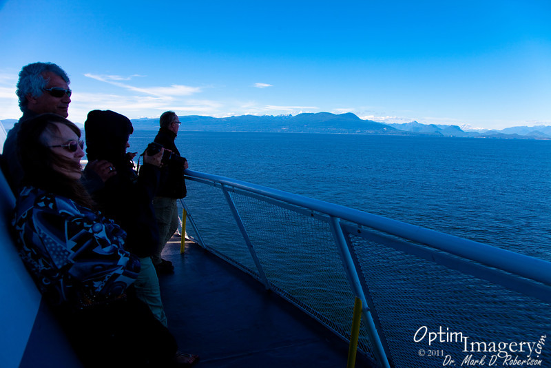 En route from Nanaimo (Vancouver Island) to Horseshoe Bay (Vancouver), B.C.