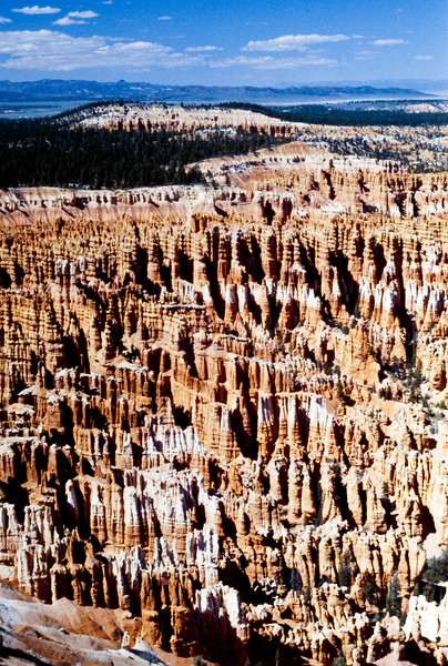 Koby Bryant was still a couple of months from being born as we gazed over Bryce Canyon.