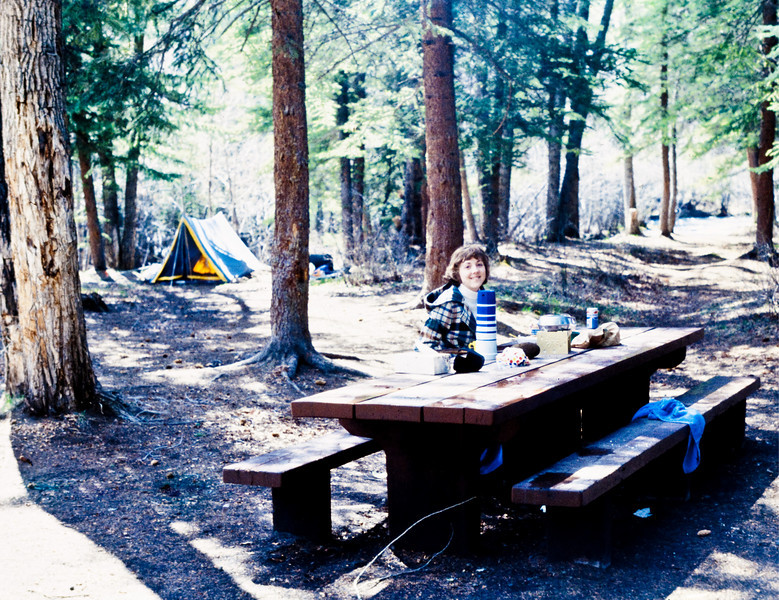 Woody Allen's ANNIE HALL won 4 Oscars this year.  I think sleeping in our tent on Wolf Creek Pass in Colorado was much more exciting than trying to watch ANNIE HALL (I've tried, but have never made it all the way through the movie).