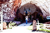 As Leonid Brezhnev was leading the Soviet Union, we decided to enjoy this cute little store-in-a-cave just north of the Grand Canyon North Rim.  They had a great ultraviolet mineral display.