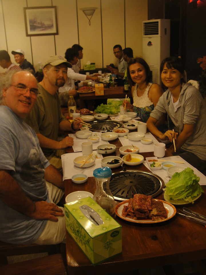 Mark, Brad, Olga, Jungha