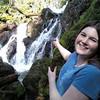Miyah loves waterfalls