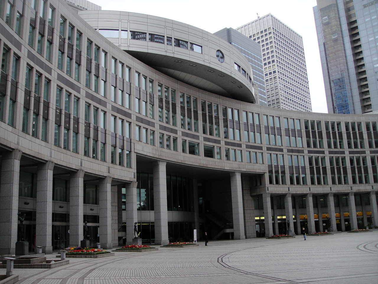This is the center where 1000's of government employees keep Japan running.