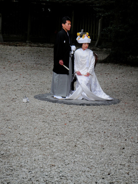 We were lucky to get to see wedding photographs being taken.  This is a famous place to have wedding ceremonies.