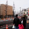 Ueno Street construction