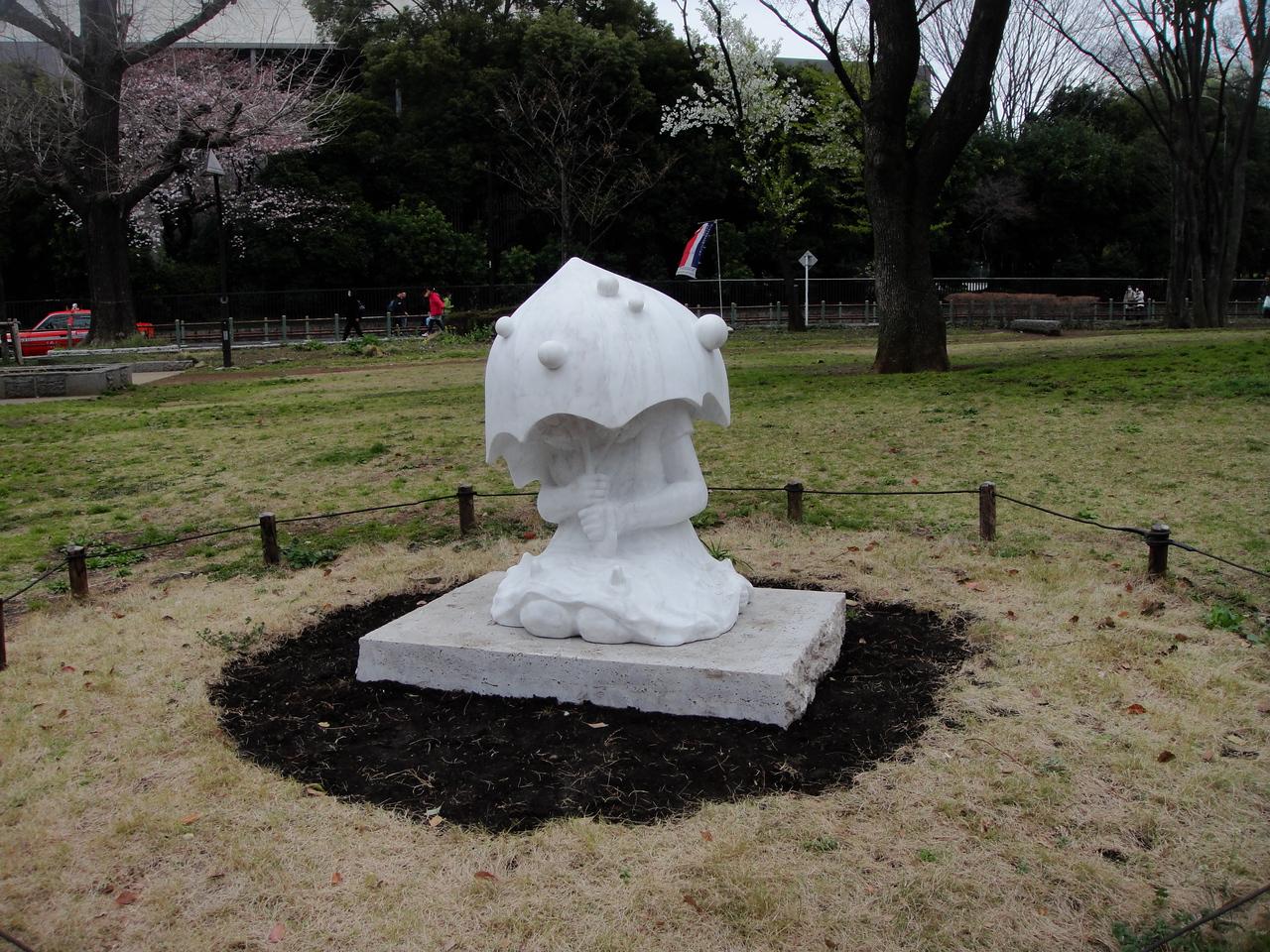 Near the university in Ueno