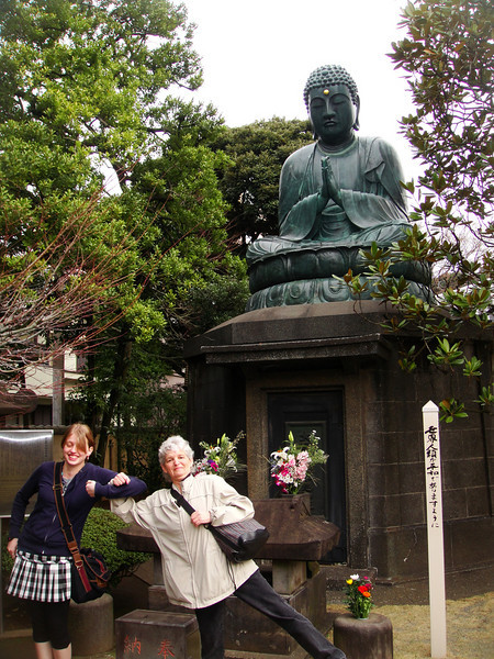 Buddha at a temple in Ueno