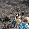 Lost in a crowd of people inside the crater....hmmmmm