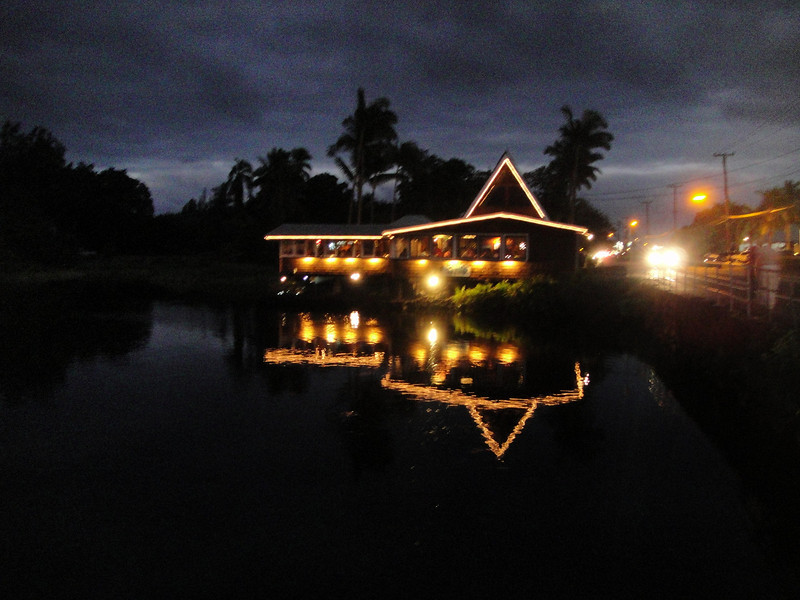 The Ponds restaurant in Hilo....one of our very favorite meals....the service was Excellent!