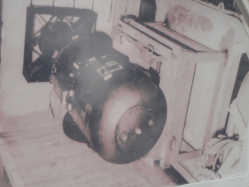 a photo of the bomb