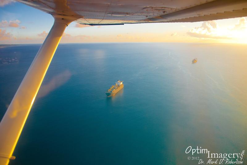 Readiness ships at anchor.