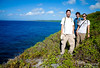 """Dave, Brady, and Kate fresh on the trail and headed toward the formation called """"The Toilet Bowl."""""""