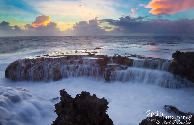 Not one of the most colorful Saipan sunrises, but pretty nice with this foreground, don't you think?