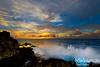SUNSET AT DRAGON POOLS