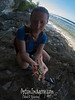 LAUREN WITH A CRAB SHELL