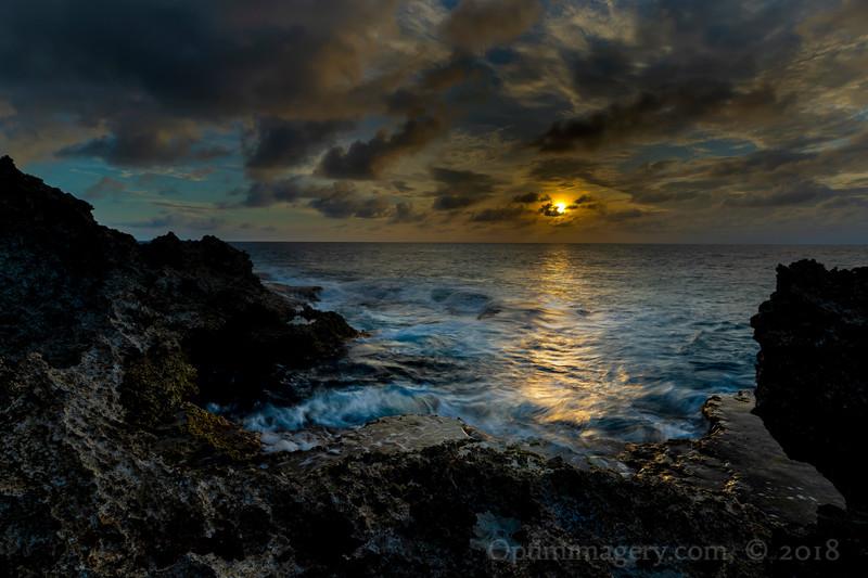 SUNSET FROM NORTH OF EL TORO