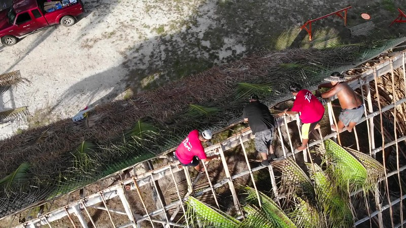 VIDEO: THATCHING A ROOF, SAIPAN STYLE!