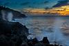 SAIPAN SUNSET FROM VALLEY OF DRAGONS (El Toro)
