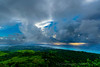 RAINING ON TINIAN AND IN THE PHILIPPINE SEA