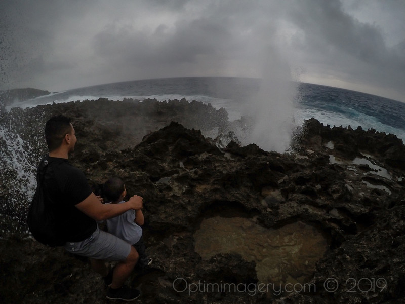 BOTH BLOW HOLES SPOUTING AT ONCE!