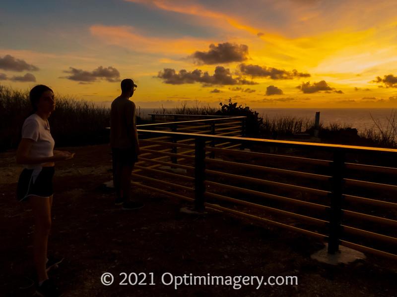 FORBIDDEN ISLAND OVERLOOK JUST BEFORE SUNRISE