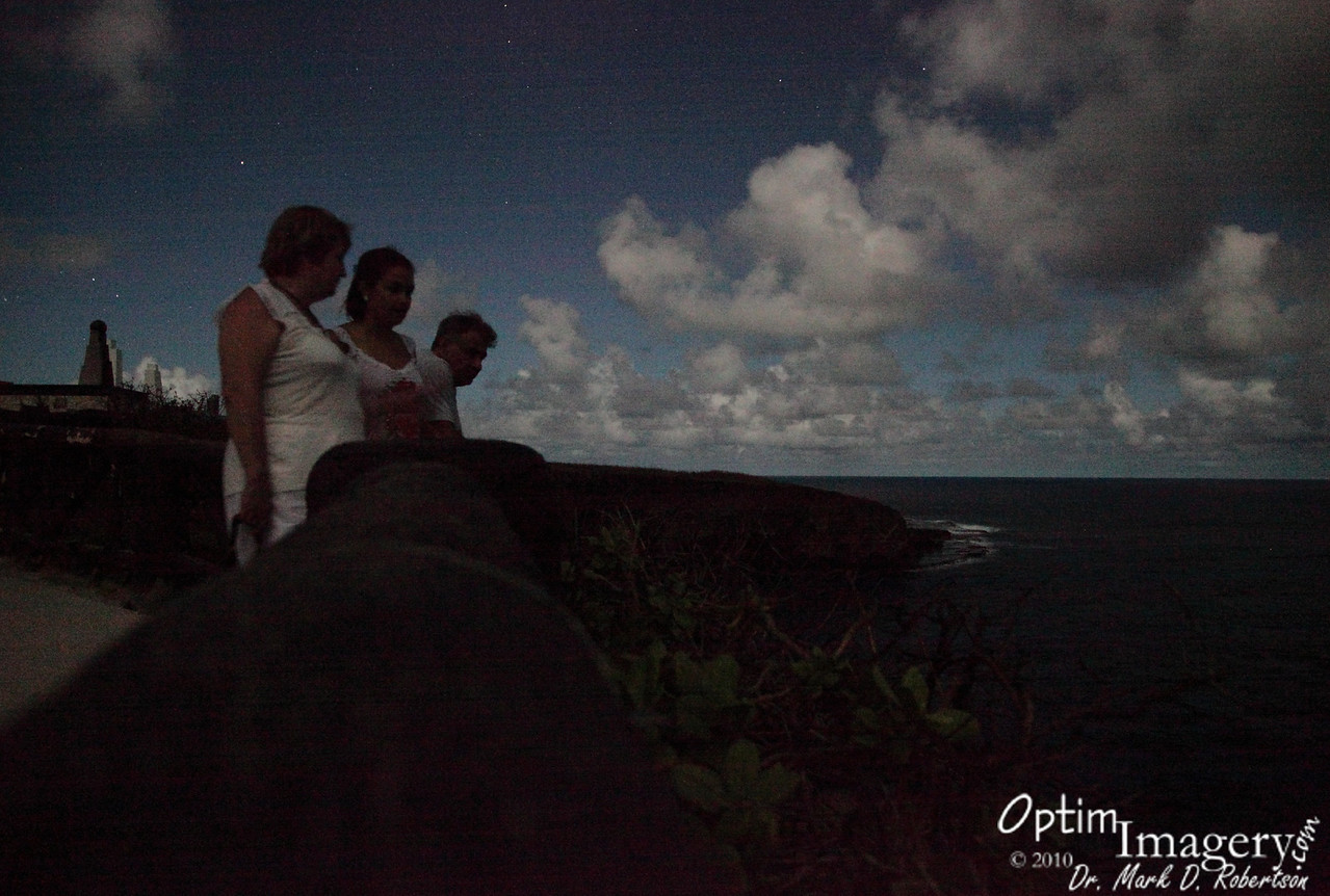 Relaxing up at Banzai Cliffs at night:  Nice way to end such an evening.