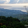 Looking down toward Susupe.  Tinian is the island in the distance.