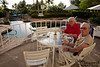 """A nice buffet """"continental"""" breakfast is included -- poolside, if you like."""