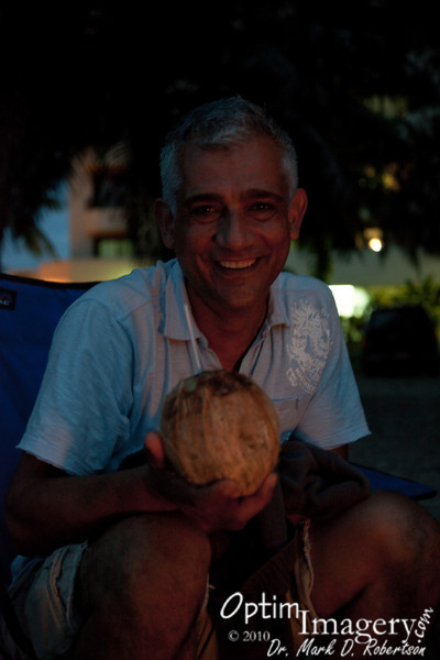 Hey Mario:  You've got one nice looking coconut, if you know what I mean!