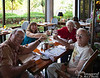 """The trip out to Saipan was Mom's and Dad's 61st anniversary gift to each other.  Here we are celebrating Valentine's Day at Giovanni's, one of the restaurants in our local Hyatt Regency Hotel.  Every Sunday, this place puts together a buffet brunch with impressive variety and quality.  """"Cheers!""""<br /> <br /> If you are interested in where this is, press the """"Map This"""" button above the photo.<br /> <br /> Also, use the """"Add Comment"""" button to your lower left to leave comments on any photo or video in this album."""