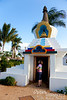 Peace Stupa in Paia.  Personally visited and consecrated by the Dalai Lama on April 24, 2007.