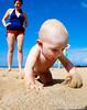 Little beach comber.