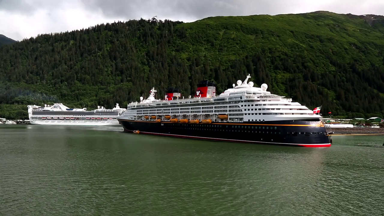VIDEO:  PULLING INTO JUNEAU