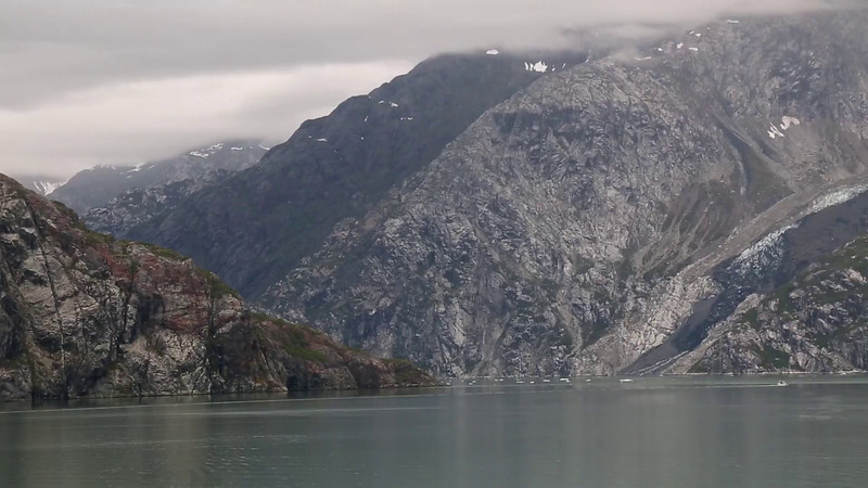 VIDEO:  HEADING UP JOHNS HOPKINS INLET & TURNING THE CORNER TO SEE JOHNS HOPKINS GLACIER