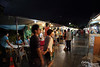 Thursday night street market.  Except for 3 photos specified, all the following were taken with ambient light (no flash).