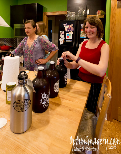 Heidi opens some mighty nice local brews.<br /> <br /> Again:  Thank-you!  I hope to see y'all again!
